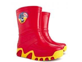 Holínky / gumáčky Demar Stormic červené 3215