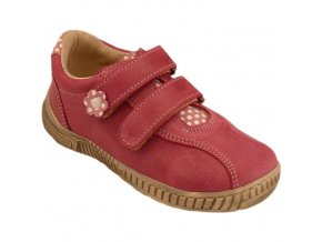 Celoroční kožené boty obuv Pegres 1301 růžové 3193