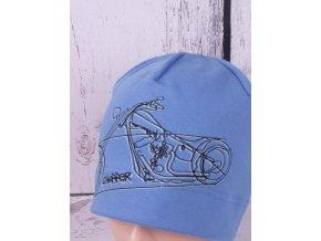 Čepice RDX 2714 modrá světlejší / motorka