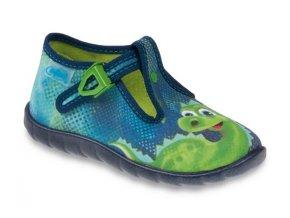 Bačkůrky papučky botičky Befado 481P003 FLEXI dino