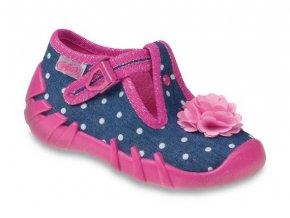 bačkůrky papučky botičky Befado 110P268