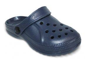 Pantofle / plážové boty / přezůvky Befado 159X003_159Y003 tm. modré