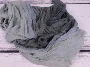 Šála šátek šálka šedá 2983