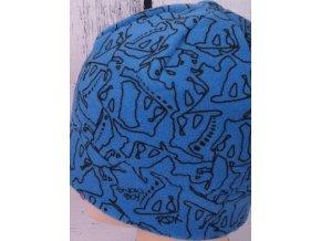 Čepice RDX 3472 zimní flísová modrá
