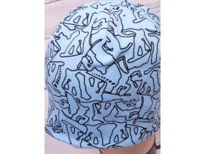 Čepice RDX 2433 dvojitá sv. modrá