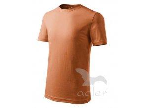 Tričko / triko Adler Classic New dětské oranžové