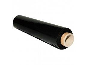 Fólie strečová / stretch černá ruční 23My, šíře 50cm, 2kg