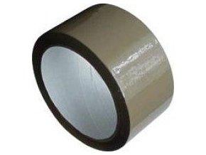 Lepící páska hnědá (havana) šíře 48mm,návin 66m