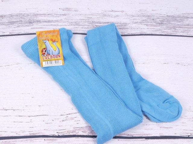 Punčocháče Dotex Lachtan žebrované 100% bavlna sv. modré velikost oblečení - děti: 52/56