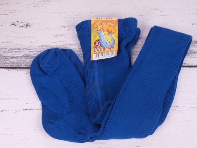 Punčocháče Dotex Lachtan žebrované 100% bavlna modré velikost oblečení - děti: 52/56