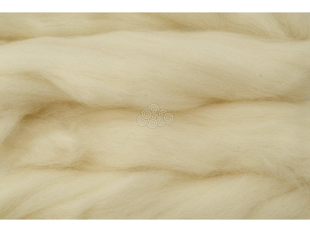 Česanec přírodní bílá -jihoamerická 042