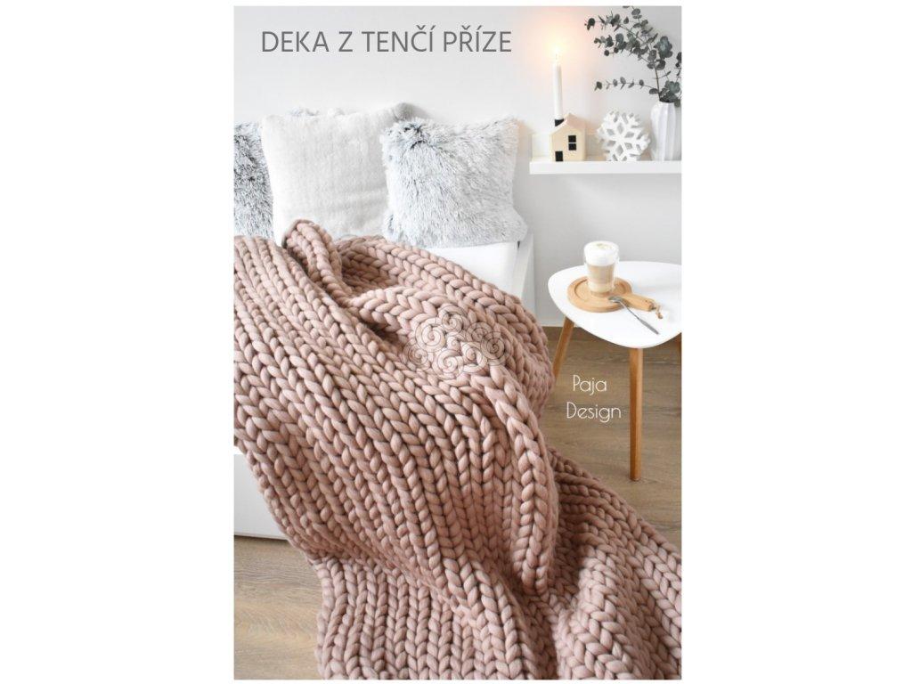 Dárkový poukaz na pletenou deku - Mini