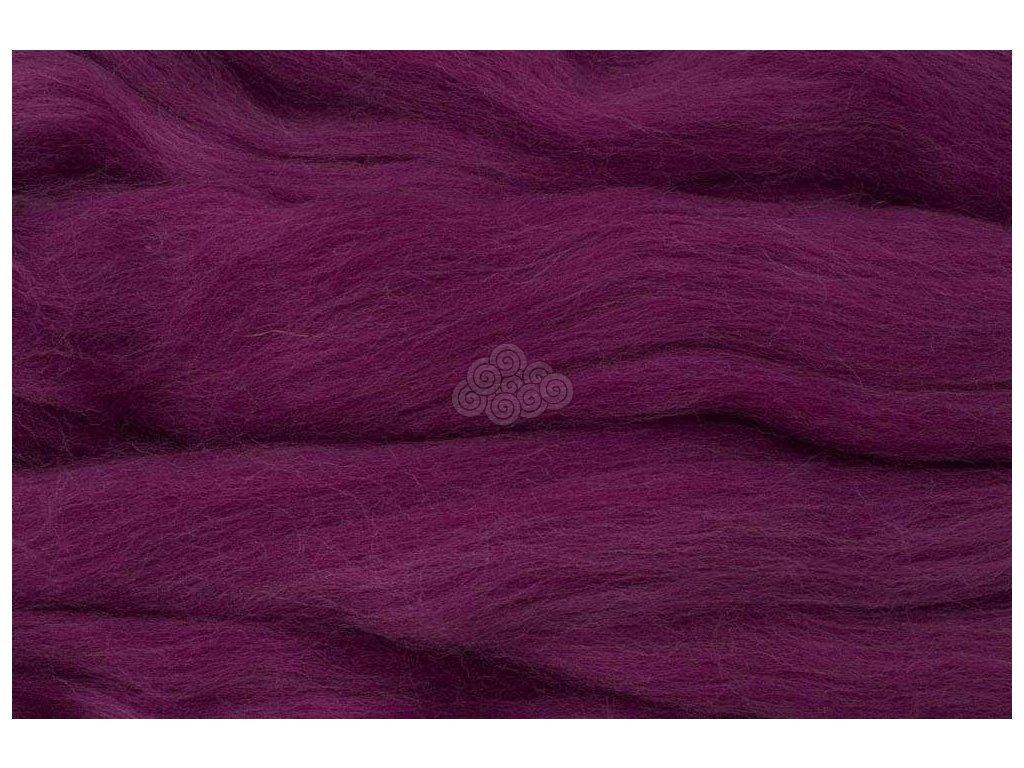 MERINO česanec purpurová 21