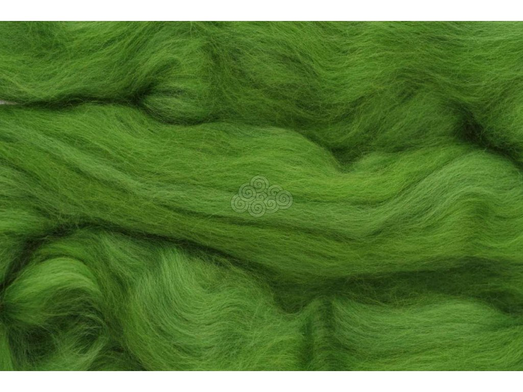 MERINO česanec kapradinová zelená 35
