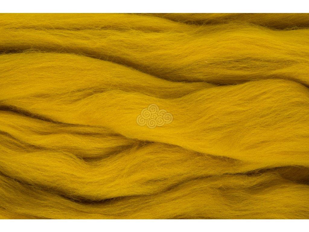 XXL vlna žlutá tabáková 3