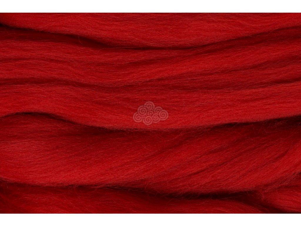 XXL vlna středně červená 12