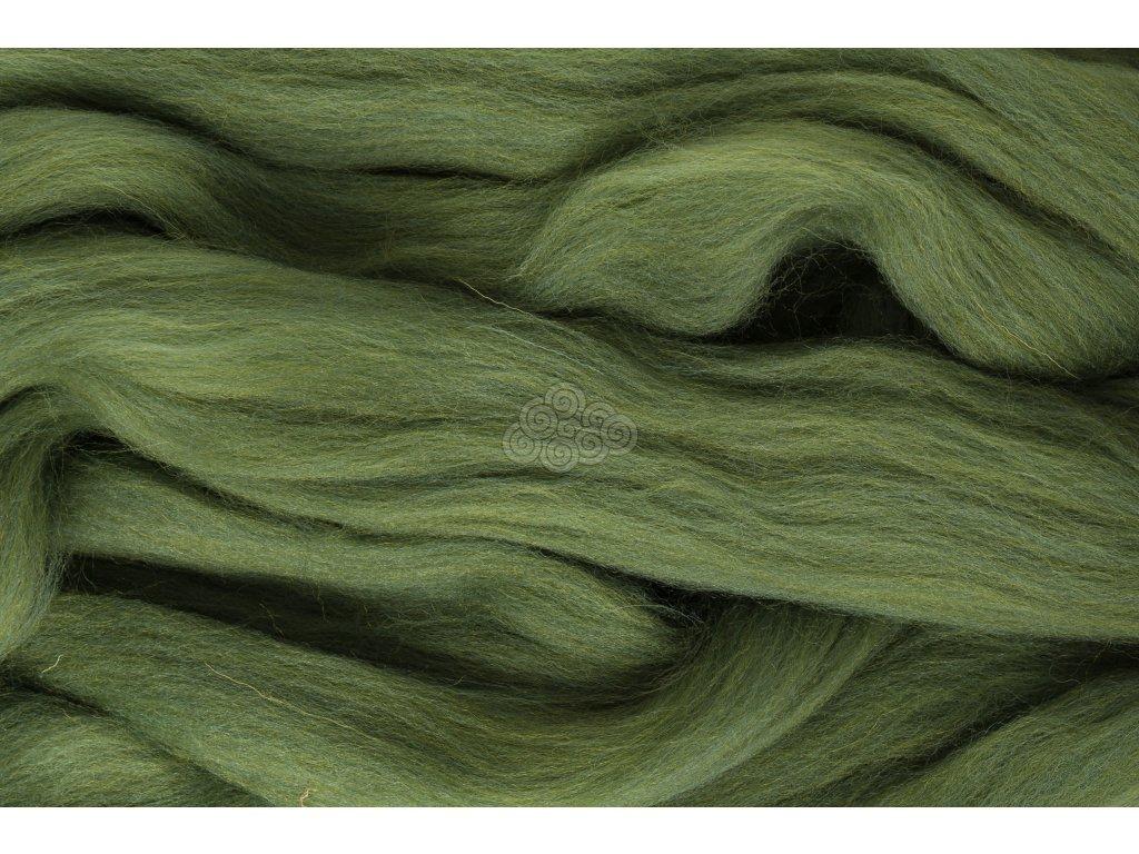 XXL vlna zelená trávová 45