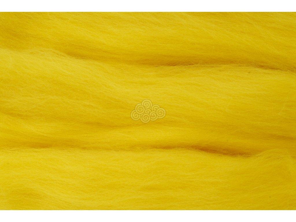MERINO česanec zinkově žlutá 13