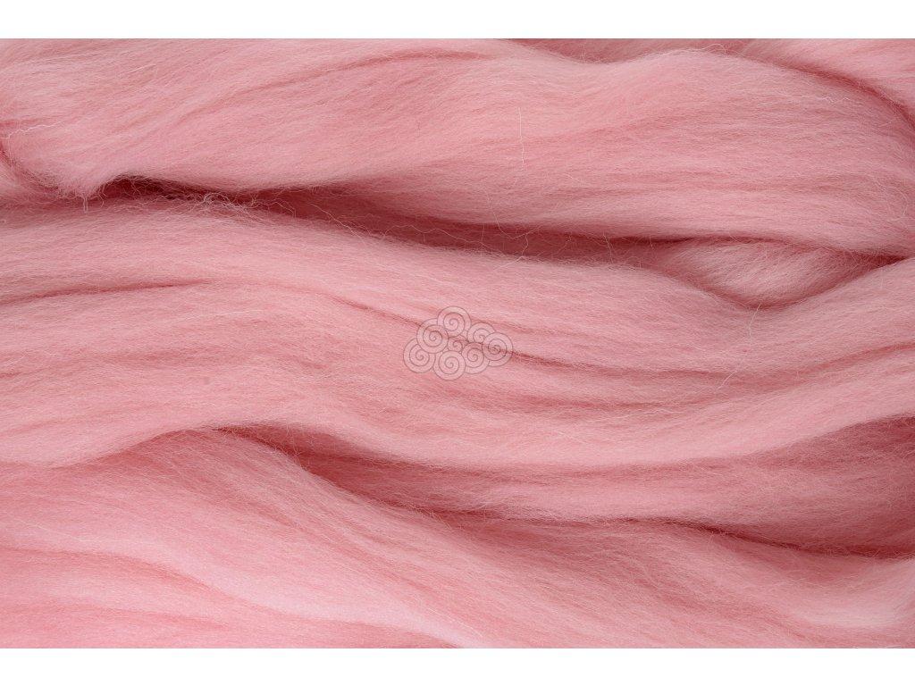 XXL vlna pudrová růžová 54