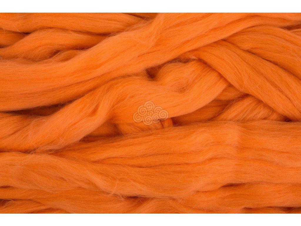 XXL vlna pomerančová 1