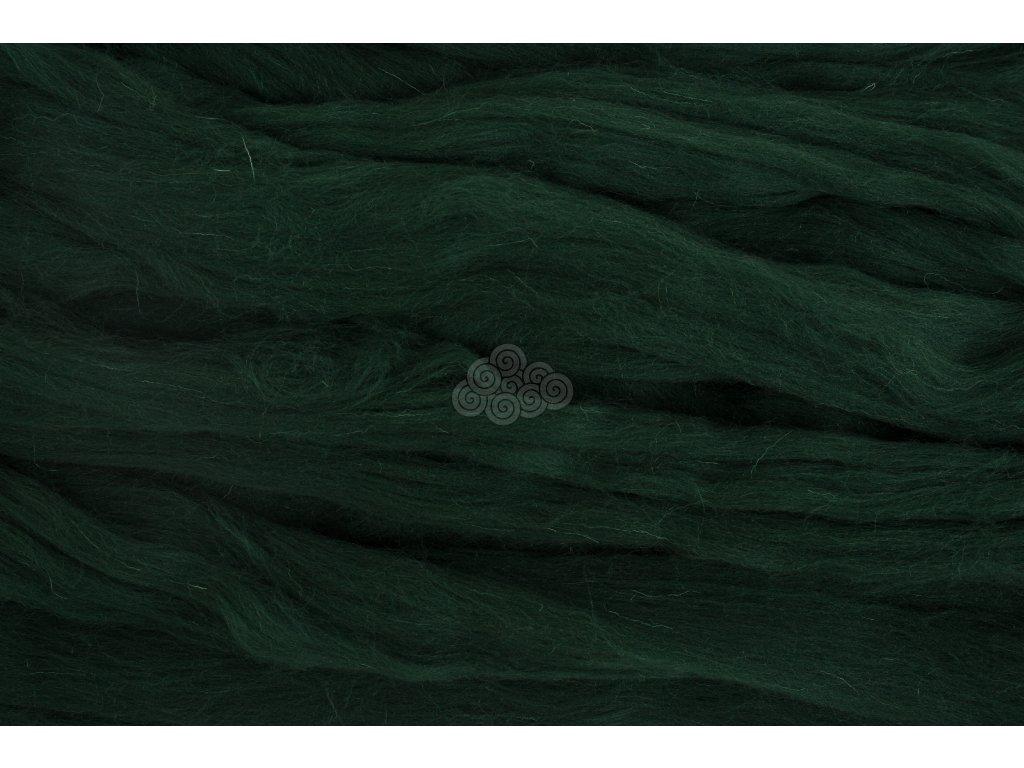 XXL vlna lahvová zelená 28