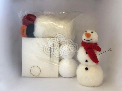 Plstící sada - Sněhulák