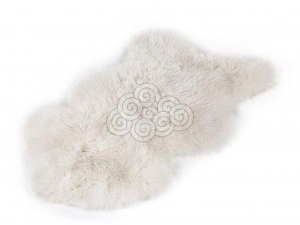 Ovčí kožešina bílá