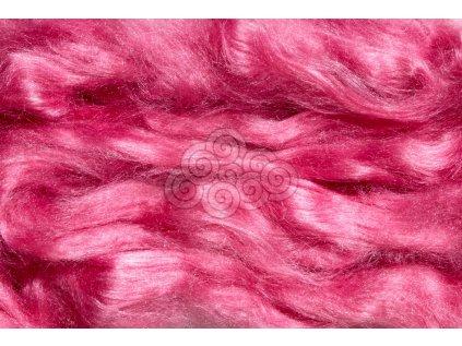 Hedvábí Tussah - růžové
