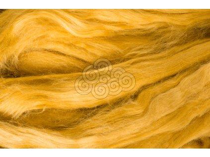 Hedvábí Tussah - zlaté
