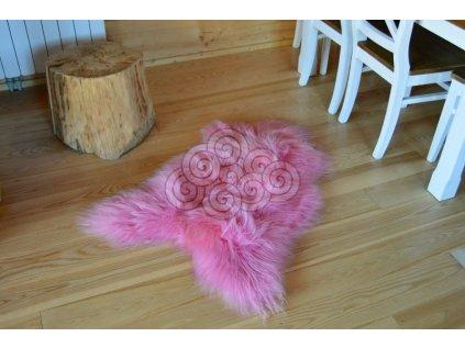 Islandská kožešina růžová