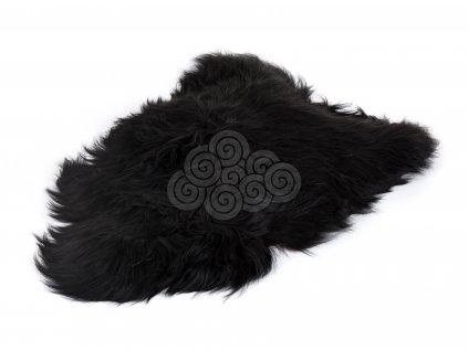 Islandská kožešina černá