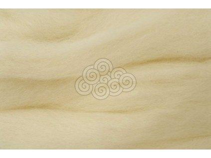 Česanec přírodní bílá/krém.německá 048