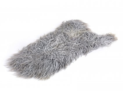 Islandská ovčí kožešina šedá