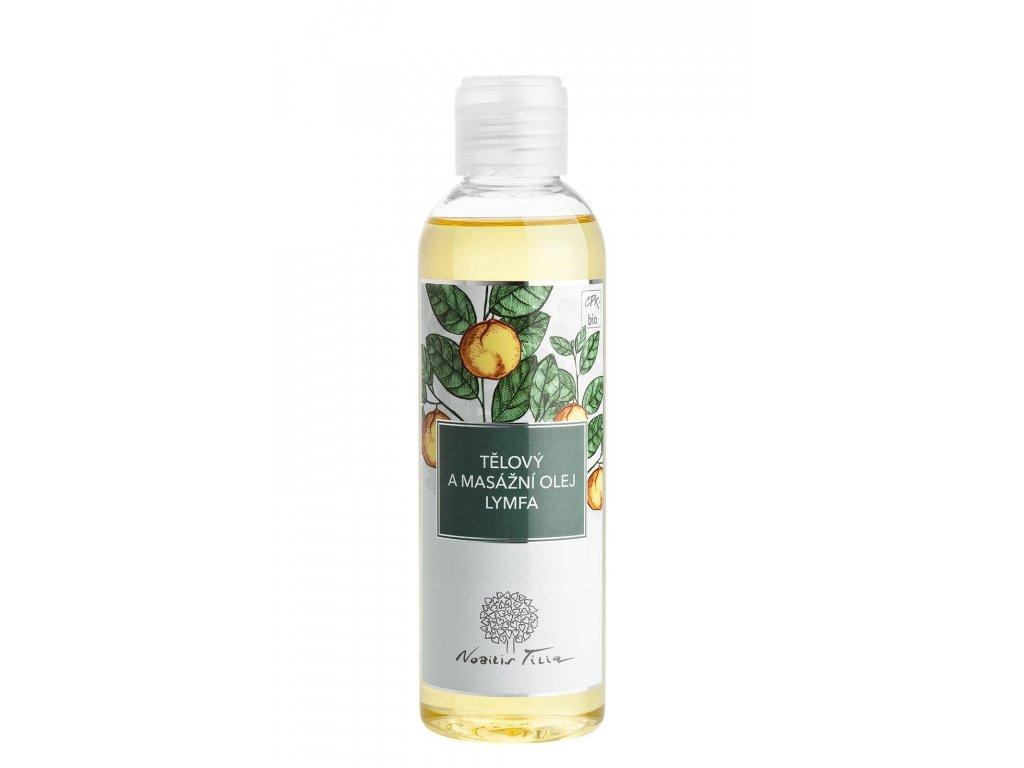 Nobilis Tilia Tělový a masážní olej Lymfa 200 ml