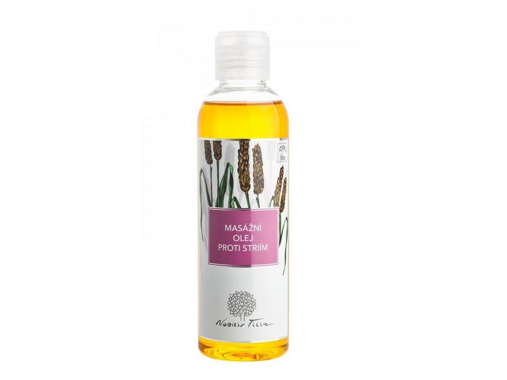 NOBILIS TILIA Masážní olej proti striím 200 ml