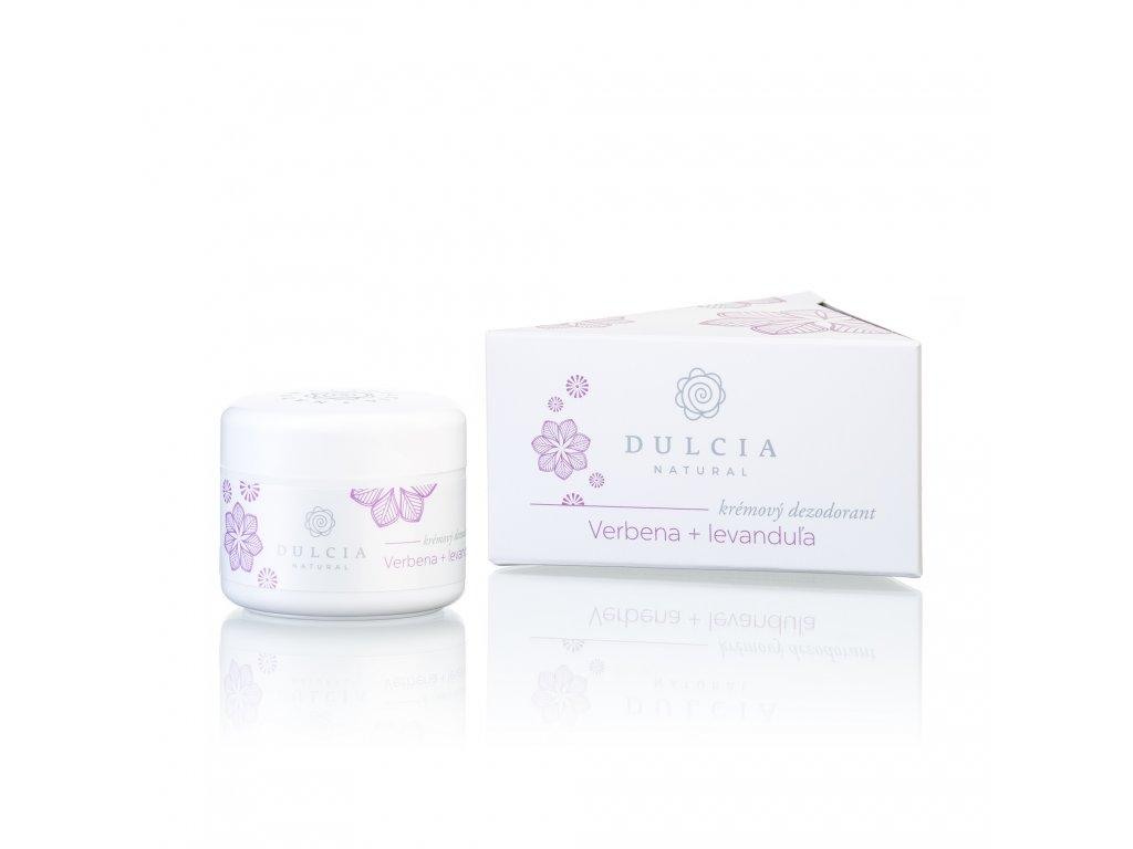 DULCIA NATURAL Krémový deodorant Verbena - levandule 30 g