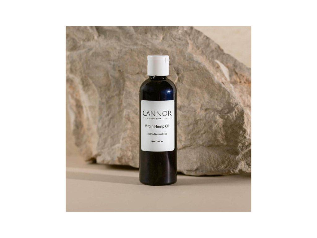 cannor.cz přírodní konopná kosmetika kosmetika s CBD Panenský konopný olej 600x600