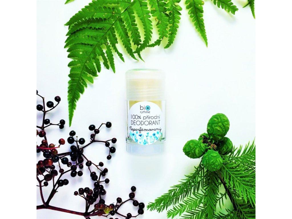 BIORYTHME 100% přírodní deodorant roll-on Neparfémovaný