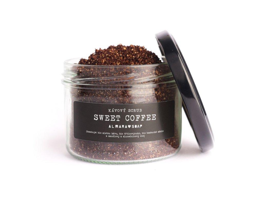 ALMARA SOAP Přírodní kávový scrub Sweet Coffee 85 g