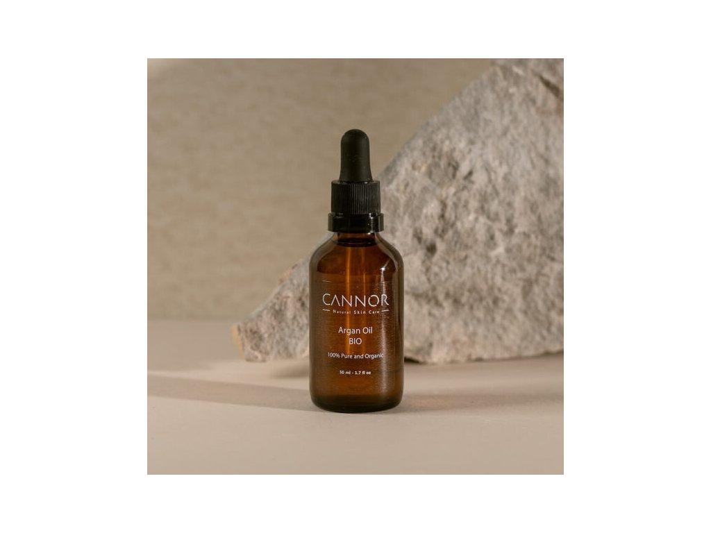 cannor přírodní kosmetika Arganový olej – BIO 600x600