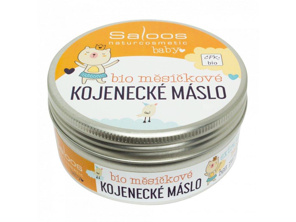 SALOOS Šlehané bio měsíčkové kojenecké máslo 150 ml
