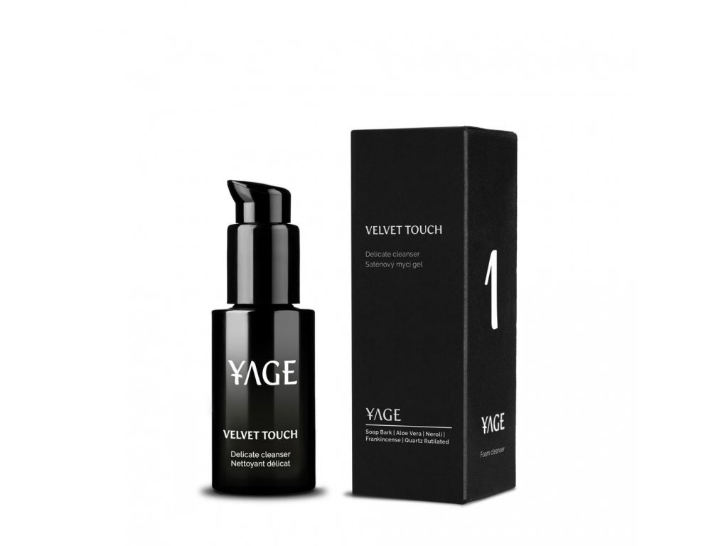 YAGE Mycí gel Velvet Touch 50 ml