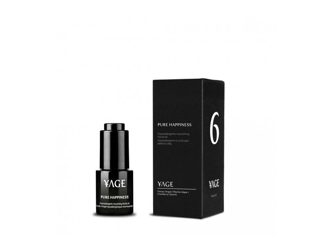YAGE Hypoalergení pleťový olej PURE HAPPINESS 15 ml