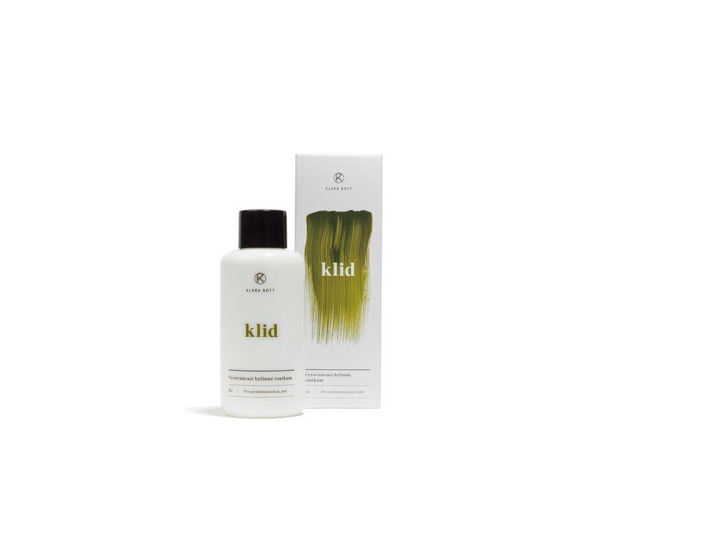 KLARA ROTT Klid - Vyrovnávací bylinné tonikum pro pro problematickou pleť 100 ml