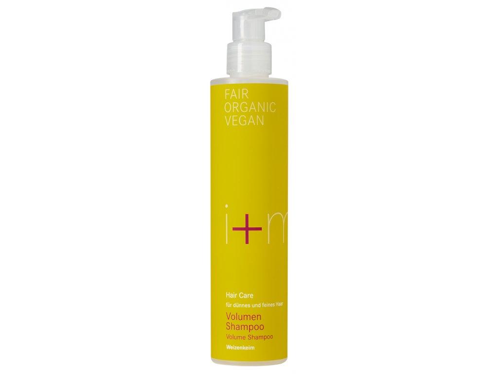 i+m Naturkosmetik Bio šampon pro objem s pšeničnými klíčky 250 ml