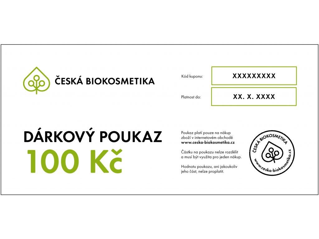 Darkovy Poukaz 210x100mm 100kc