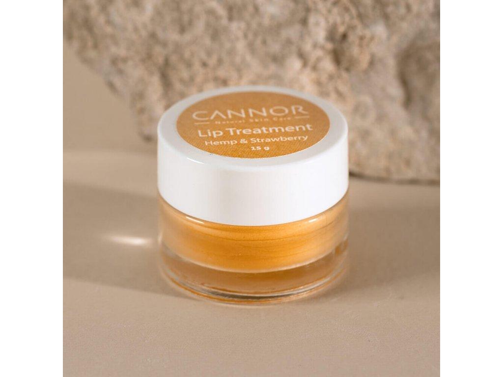 cannor.cz přírodní konopná kosmetika kosmetika s CBD Intenzivní balzám na rty
