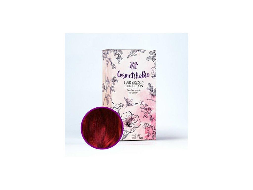 prirodni hennova barva na vlasy vinove cervena wine red cosmetikabio l