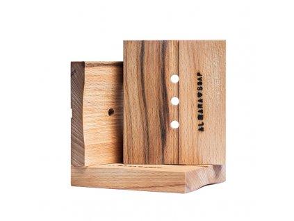 ALMARA SOAP Mýdlenka dřevěná 1 ks