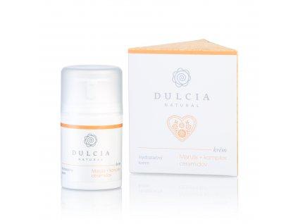 DULCIA NATURAL Hydratační krém - Marulový olej a komplex ceramidů 50 ml